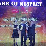 """Tổng Giám Đốc Điện Quang đứng đầu danh sách """"50 Nhà Lãnh đạo Doanh nghiệp - Mark of Respect 2015"""""""