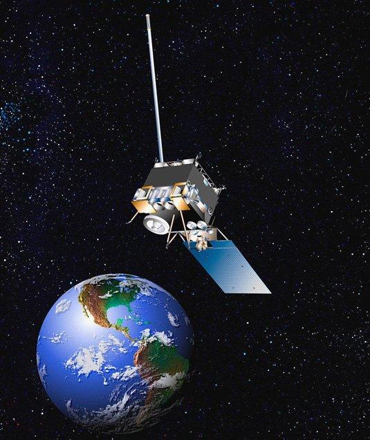 Vệ tinh dự báo thời tiết GOES. Thế hệ vệ tinh GOES mới nhất là loạt GOES-R đang được 2 cơ quan Mỹ là NASA và NOAA cùng phát triển có khả năng chụp hình tốt hơn các thế hệ trước.