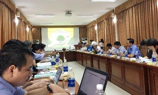 """Hội thảo tham vấn về """"Lộ trình quốc gia phát triển công nghệ chiếu sáng LED tới năm 2025"""" do Dự án LED tổ chức ngày 14/6/2017 tại Khu di tích K9, Ba Vì, Hà Nội."""