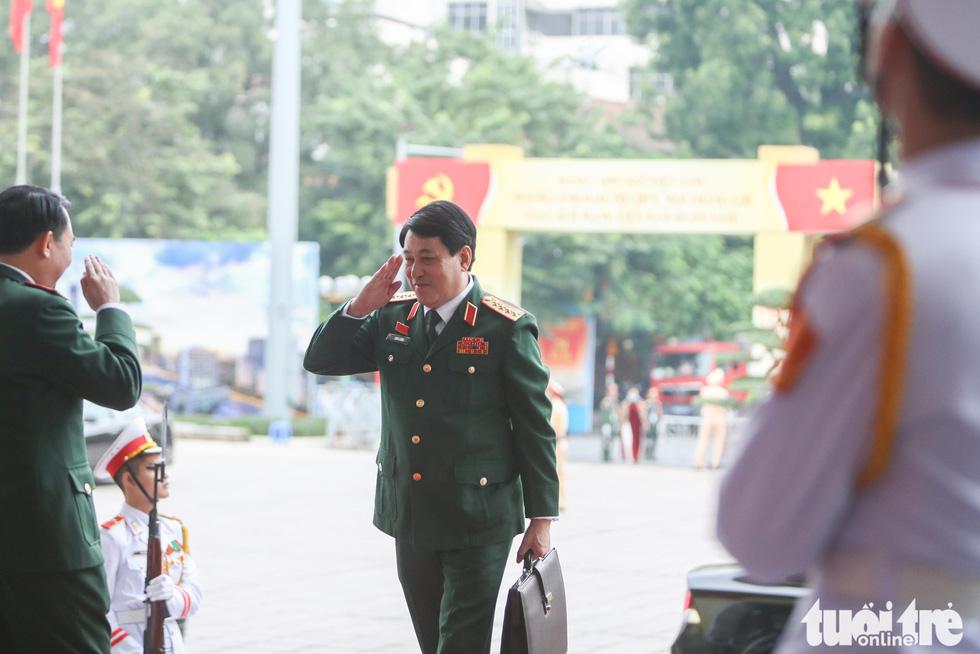 Đại tướng Lương Cường, chủ nhiệm Tổng cục Chính trị, QĐND Việt Nam - Ảnh: NGUYỄN KHÁNH