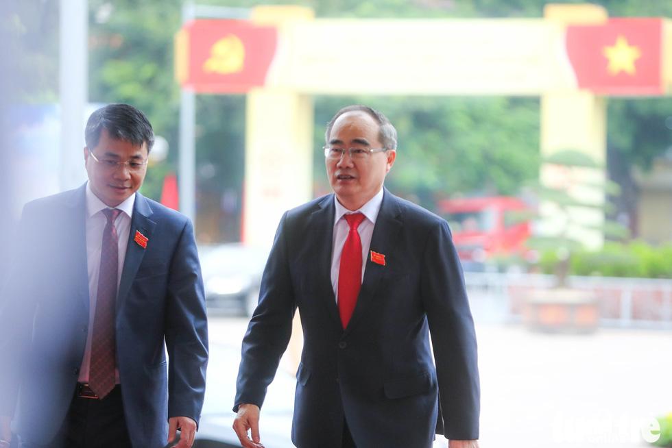 Ông Nguyễn Thiện Nhân, bí thư Thành ủy TP.HCM - Ảnh: NGUYỄN KHÁNH