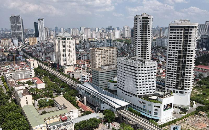Diện mạo Thủ đô Hà Nội ngày càng xanh, sạch, đẹp, hiện đại. Ảnh: Duy Linh